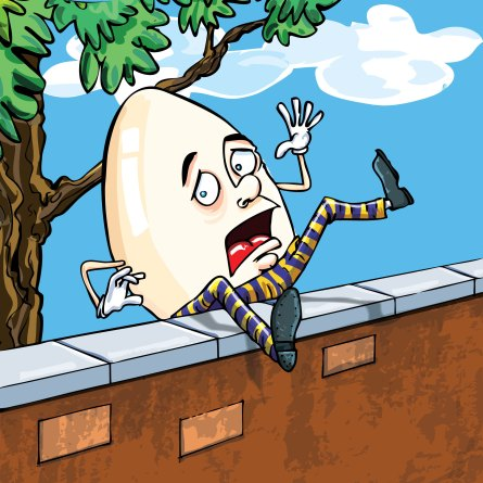 Image result for humpty dumpty sat on a wall