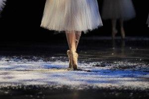 Dancing Ballerina Feet