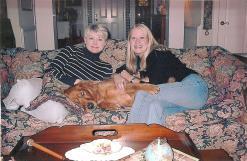 Sam w:Melanie & I 2001